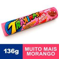 Biscoito Trakinas Mais Morango 136g - Cod. 7622300741174C54