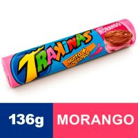 Biscoito Trakinas Morango 136g - Cod. 7622300741044C54