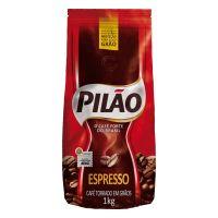 Café Pilão Torrado wm Grãos Espresso 1Kg - Cod. 7896089012101