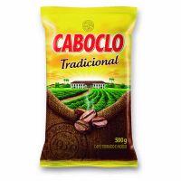 Café Torrado e Moído Caboclo Tradicional Almofada 500g - Cod. 7896089011470