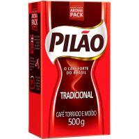 Café Tradicional Vácuo Pilão 500g - Cod. 17896089011354