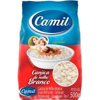 Canjica Camil 500g | Caixa com 30 Unidades - Cod. 7896006797838C30