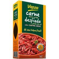 Carne Bovina Curada Desfiada Vapza Pacote 400g| Caixa com 24 Unidades - Cod. 7897122601245C24