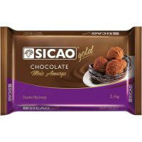 Chocolate em Barra Meio Amargo Sicão 2,1kg - Cod. 120842033776C5