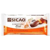 Chocolate em Barra para Cobertura Blend Gold Sicao 1,01kg | Caixa com 10 Unidades - Cod. 20842059899C10