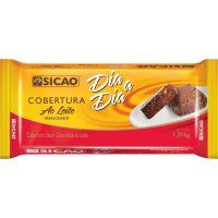 Chocolate para Cobertura ao Leite Dia a Dia Sicão 1,01kg - Cod. 20842060444C10