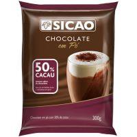 Chocolate Pó Sicao 50% 300g Chd-2S108-A99 | Caixa com 20 unidades - Cod. 208420624626