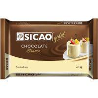 Chocolate Sicao Branco 2,1kg Crm-Bl-2002515-A12 | Caixa com 5 unidades - Cod. 20842033752C5
