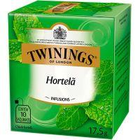 Chá de Hortelã Twinings 17,5g | Caixa com 10 Unidades - Cod. 701771971628C10
