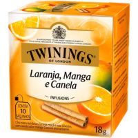 Chá Laranja, Manga e Canela Twinings 1,8g | Com 10 Unidades - Cod. 70177169619C12