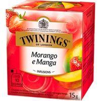 Chá Morango e Manga Twinings 1,5g   Com 10 Unidades - Cod. 70177169633C12