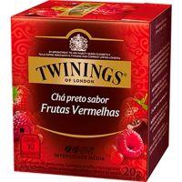 Chá Preto e Frutas Vermelhas Twinings 20g - Cod. 70177197155