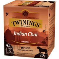 Chá Preto Indian Chai Twinings 2g   Com 10 Unidades - Cod. 70177197285C12