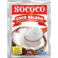 Coco Ralado Sococo 100g - Cod. 7896004400013