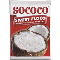 Coco Ralado Sococo úmido e adoçado 1kg - Cod. 7896004401768
