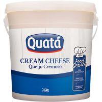 Cream Cheese Quatá 3,6kg   Caixa com 4 Unidades - Cod. 7896183201258C4
