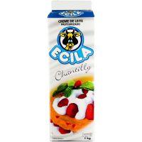 Creme de leite 35% de Gordura Ecila Tetra Pack 1kg | Caixa com 12 Unidades - Cod. 7890017701204C12