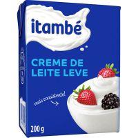 Creme de Leite Leve Itambé Tetra Pack 200g - Cod. 37896051114025