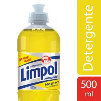 Detergente Líquido Neutro Limpol Bombril 500ml - Cod. 17891022638001