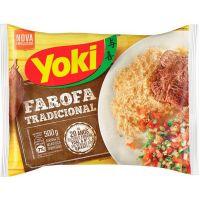 Farofa de Mandioca Temperada Yoki 1kg - Cod. 7891095030262C12