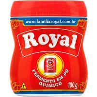 Fermento Royal Po 100g Novo | Caixa com 12 unidades - Cod. 7622300119607C12