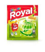 Gelatina em pó Royal Limão 25g | Caixa com 15 unidades - Cod. 7622300859909C15