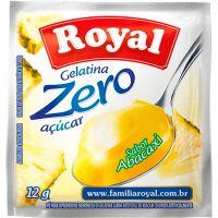 Gelatina Royal Zero 12g Abacaxi | Caixa com 12 unidades - Cod. 7622300172824C12