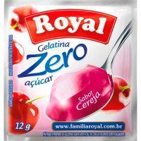 Gelatina Royal Zero 12g Cereja | Caixa com 12 unidades - Cod. 7622300172879C12