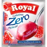 Gelatina Royal Zero 12g Framboesa | Caixa com 12 unidades - Cod. 7622300172893C12