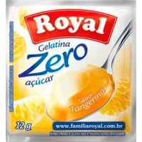 Gelatina Royal Zero 12g Tangerina | Caixa com 12 unidades - Cod. 7622300172978C12