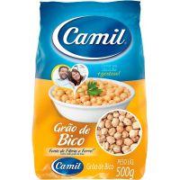 Grão de Bico Camil 500g | Caixa com 12 Unidades - Cod. 7896006750734C12