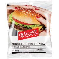 Hambúrguer de Picanha Wessel 120g - Cod. 7896103804897