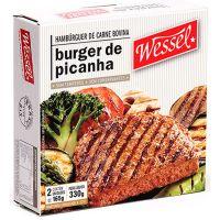 Hambúrguer Wessel 100g - Cod. 7896103805085