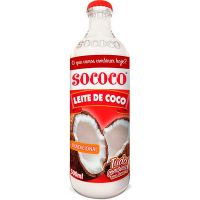 Leite de Coco Sococo 500ml   Caixa com 24 Unidades - Cod. 7896004400082C24