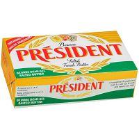 Manteiga com Sal Président 8g | Caixa com 125 Unidades - Cod. 3428200383377