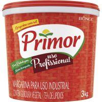 Margarina com sal Primor Balde 3kg - Cod. 7891080402166C6