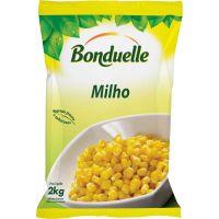 Milho Verde Congelado Bonduelle Saco 2kg | Caixa com 6 Unidades - Cod. 3083681053296C6
