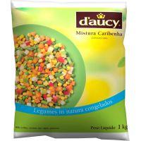Mistura Caribenha Congelada D'aucy 1kg | Caixa com 10 Unidades - Cod. 3248451066429C10