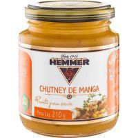 Molho Chutney de Manga Hemmer 210g | Caixa com 12 Unidades - Cod. 7891031411094C12