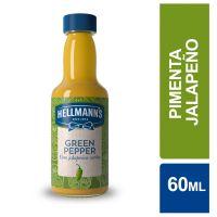 Molho de Pimenta Hellmann's Jalapeño Verde 60ml - Cod. 7891150062610