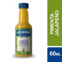 Molho de Pimenta Hellmann's Jalapeño Verde 60ml | Caixa com 12 Unidades - Cod. 27891150062614