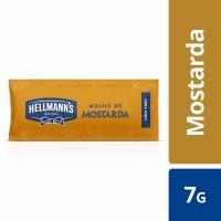 Mostarda Hellmann's Sachê 168 x 7g | Caixa com 168 - Cod. 67891150057564