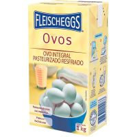 Ovo Integral Pasteurizado Fleischeggs 1kg   Caixa com 12 Unidades - Cod. 7898331010033C12