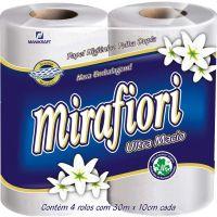 Papel Higiênico Folha Dupla Mirafiori | 4 Unidades - Cod. 7896075301448