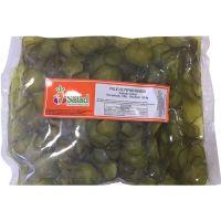 Picles de Pepino em Conserva Fatiado Mr Salad 1kg | Com 6 Unidades - Cod. 17896404200708