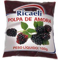 Polpa de Amora Ricaeli 100g - Cod. 7897387101146C10