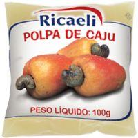 Polpa de Cajú Ricaeli 100g - Cod. 7897387101153C10