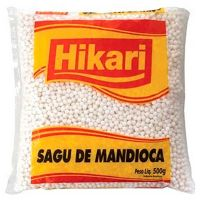 Sagu Hikari Pacote 500g | Caixa com 12 Unidades - Cod. 7891965220595C12