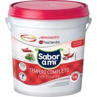 Tempero Completo sem Pimenta Sabor Ami Ajinomoto Balde 5kg - Cod. 7891132002022