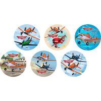 Disco Decorativo Aviões Rich's 12 Unidades - Cod. 7898950235299